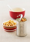 Chickpeas in a Can