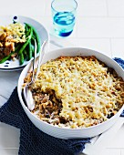 Chicken and thyme pasta bake