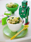 Creamy Broccoli with Pasta for Kids
