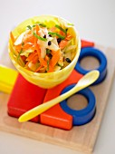 Crunchy Salad for Kids