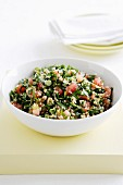 Super-healthy Tabouli with herbs