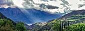 A view from Vesio, Tremosine, Lake Garda, Italy