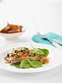 Thunfisch mit Erbsen italienische Art