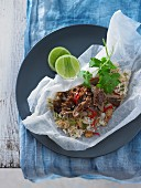 Duck Rice Parcels