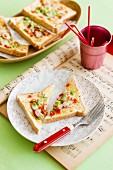 Toastie pizzas