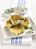Frittata with young chard