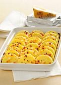 Gnocchetti al semolino e sbrinz (Gnocchi aus Hartweizengriess mit Sbrinz, Italien)