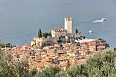Castello Scaligero, Malcesine, Lake Garda, Italy