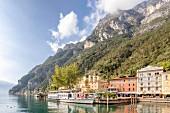 Ferries on Lake Garda, Italy