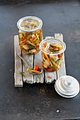 Acar (Indonesian sour pickled vegetables)
