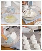 Preparing meringues
