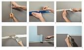 Anleitung für eine mehrfarbige Wand