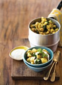 Aloo gobi, Indian cauliflower and potato dish