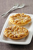 Pine nut tartlets