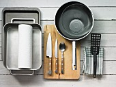 Kitchen utensils for braising