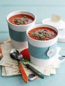 Tomatensuppe zum Mitnehmen