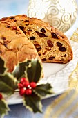 Pandolce genovese di Natale (Christmas cake from Liguria, Italy)