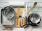 Kitchen utensils for preparing poultry