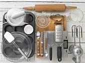 Küchenutensilien für Ostermuffins