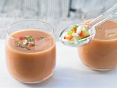 Gazpacho with sherry vinegar