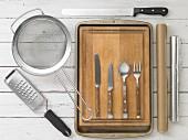 Kitchen utensils for stuffed bread