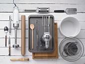 Kitchen utensils for making soufflé