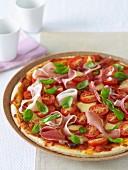 Tomato, Prosciutto & Basil Pizza