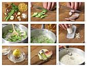 Selleriesauce mit Äpfeln & Meerrettich zubereiten