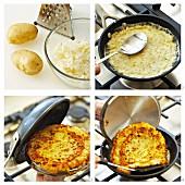 Making potato rösti
