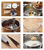 Süße Mie-Nudeln mit Vanille & Zwetschgenröster zubereiten
