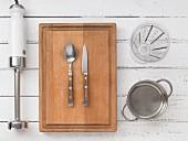 Kitchen utensils for making baby food