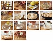 Stachelbeer-Zitronentarte mit weisser Schokolade zubereiten