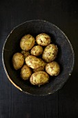 A bowl of Yukon Gold potatoes