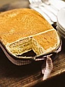 Bavarian wheat beer tiramisu