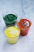 Three smoothies