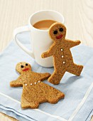 Shortcrust pastry figures