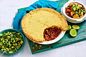 Cornmeal Chilli Con Carne Pie
