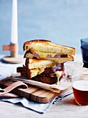 Bacon and cheese toasties