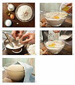 Making yeast dough