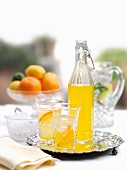 Orange & lemon cordial
