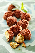 Falafel (chickpea balls, Arabia)