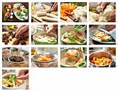 Leipziger Allerlei mit Krebsfleisch und Morcheln zubereiten