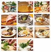 Tellersülze mit Kassler und Joghurt-Remoulade