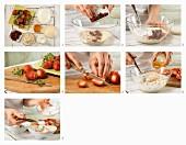 Erdbeermüsli mit Hirse und Haferflocken zubereiten
