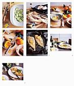 Seezunge mit Orangenbutter zubereiten