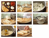 How to prepare tomato curry with mozzarella