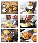 Making potato rösti