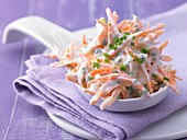 Carrot and chive quark with sour cream