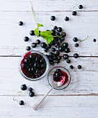 Blackcurrant compote