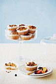 Bran muffins with fruits